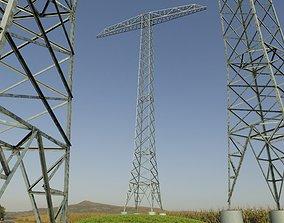 Transmission Tower 32 Meter 3D model
