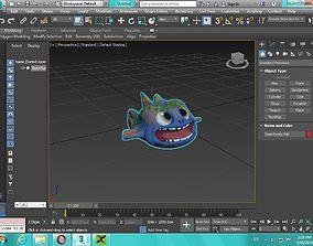 Cute toon fish 3D print