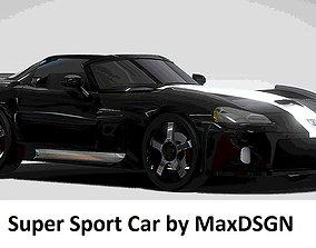 Super Sport Car 3D model realtime
