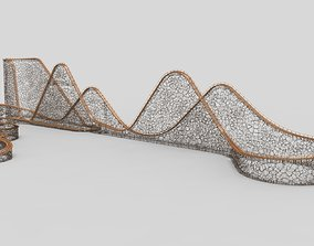 3D Roller coaster - Voronoi