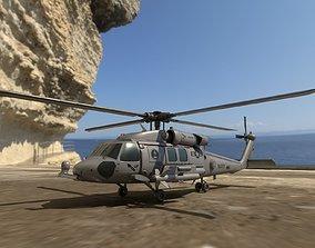 UH-60 Black Hawk 3D model realtime