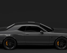 3D model Dodge Challenger SRT Hellcat 2020