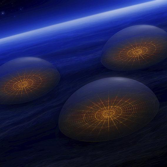 Supercivilization in Neptune