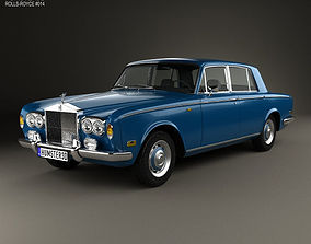 3D Rolls-Royce Silver Shadow 1965