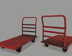 Trolley 3D model realtime industrial