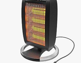 3D model Halogen Heater