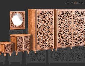 3D Dresser Set Ornament Vol-01