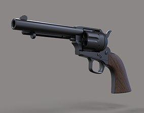 3D model revolver Revolver Colt Single Action