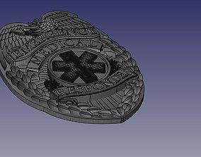 Eagle Badge EMR Badge 3D model