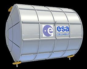 ISS Module Columbus 3D
