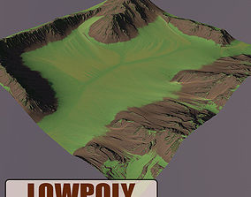 3D model Level Terrain 02