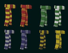 3D model Hogwarts Scarf Collection - Harry Potter 1