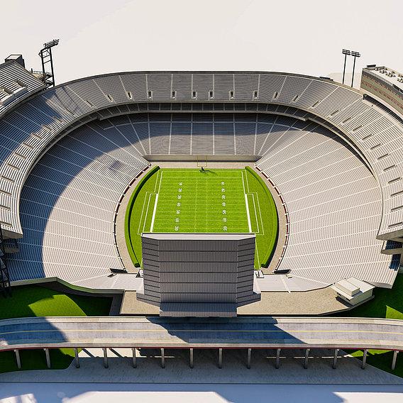 Sanford Stadium 3D