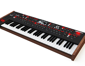 Dave Smith Instruments Prophet 12 Synthesizer 3D model 2