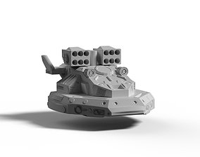 Tormentor Hovertank 3D print model