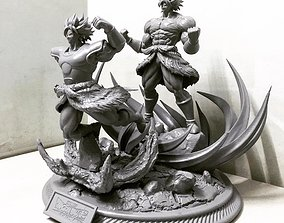 3D print model Broly Diorama - from Broly movie 2019