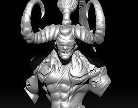 Demon Bust - Illidan Fanart 3D printable model