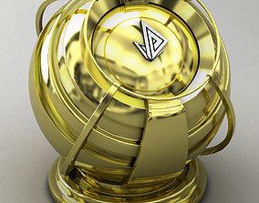 VRAY SHADER---METAL---Brass 3D