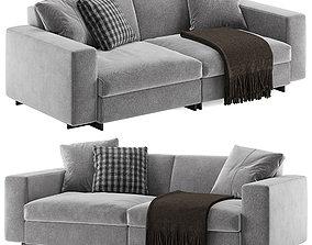 3D model Molteni e C Turner sofa 2 seats