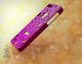 3D print model Diamonds iphone 5 case