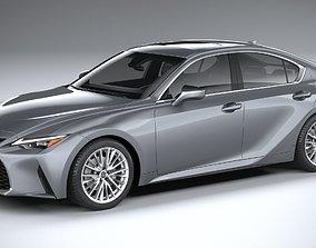 Lexus IS 2021 3D
