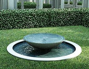 3D fountain chasha static