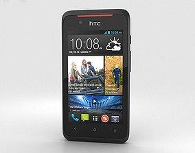 3D model HTC Desire 210 Black