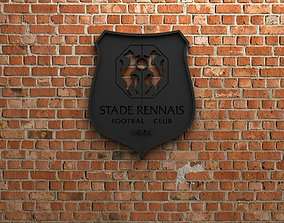 Stade Rennais FC Logo 3D printable model