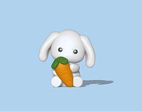 Baby Bunny 3D print model