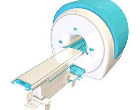 low poly MRI Scanner 3D model