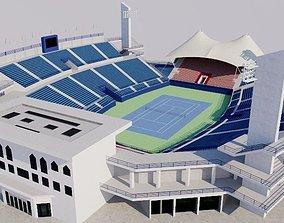 Dubai Tennis Stadium 3D model