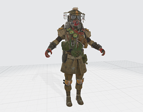 Apex Legends - Bloodhound Character Model