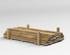3D Wooden Planks