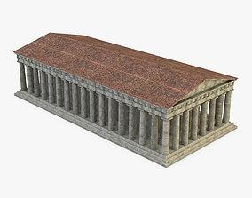 Pantheon Temple Greek 3D model