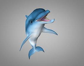 Dolphin 3D asset