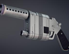 Star Wars - Rey NN-14 blaster pistol 3D model