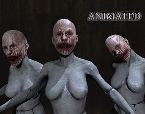 HORROR mannequin Animated 3D asset