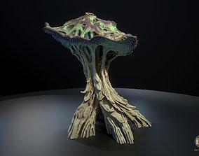 Alien Plant Mushroom Type2 3D model
