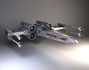 3D model Star Wars X-Wing Fighter