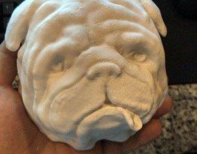 Pug Head 3D print model