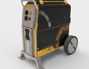 Sci-fi Power Generator 3D asset
