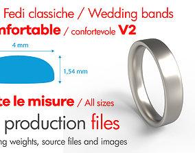 Wedding -comoda moderna - profilo 3D printable model 4