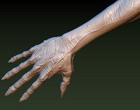 Zombie Hand 3D print model