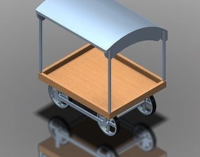 Panipuri cart 3D model