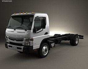 3D Mitsubishi Fuso Chassis Truck 2013
