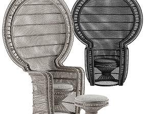Mcguire Melek armchair 3D