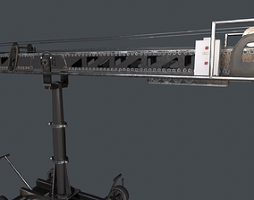 Techno Crane 50 3D asset