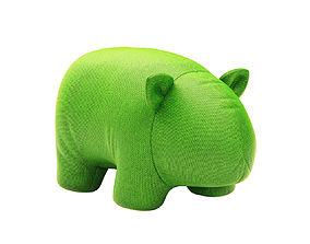 3D model Wombat Plush Toy by Les Basic