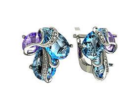 3D printable model Earrings 1114