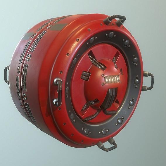 AI control module Red Version